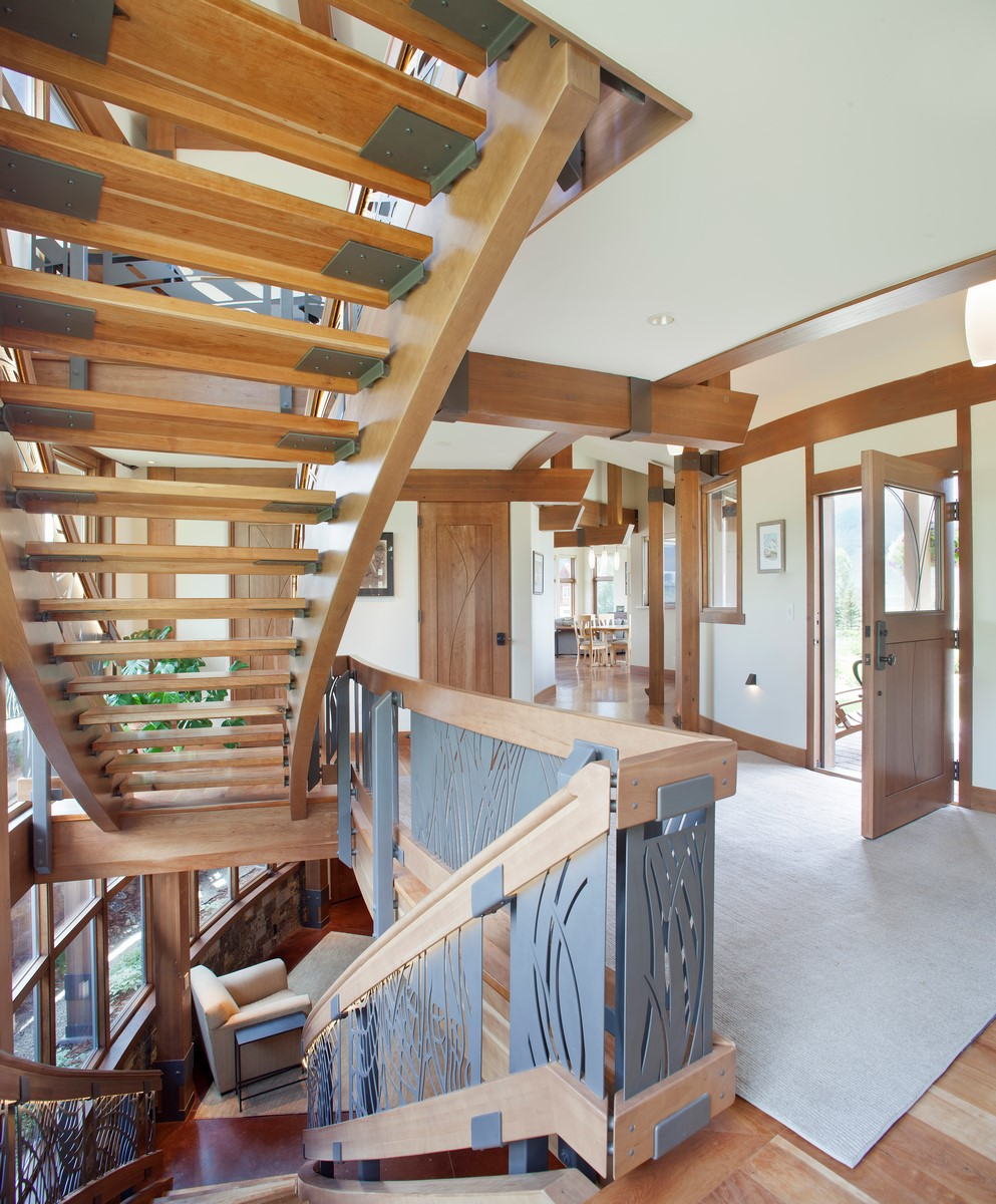 Property Of Custom Home With Unique Design
