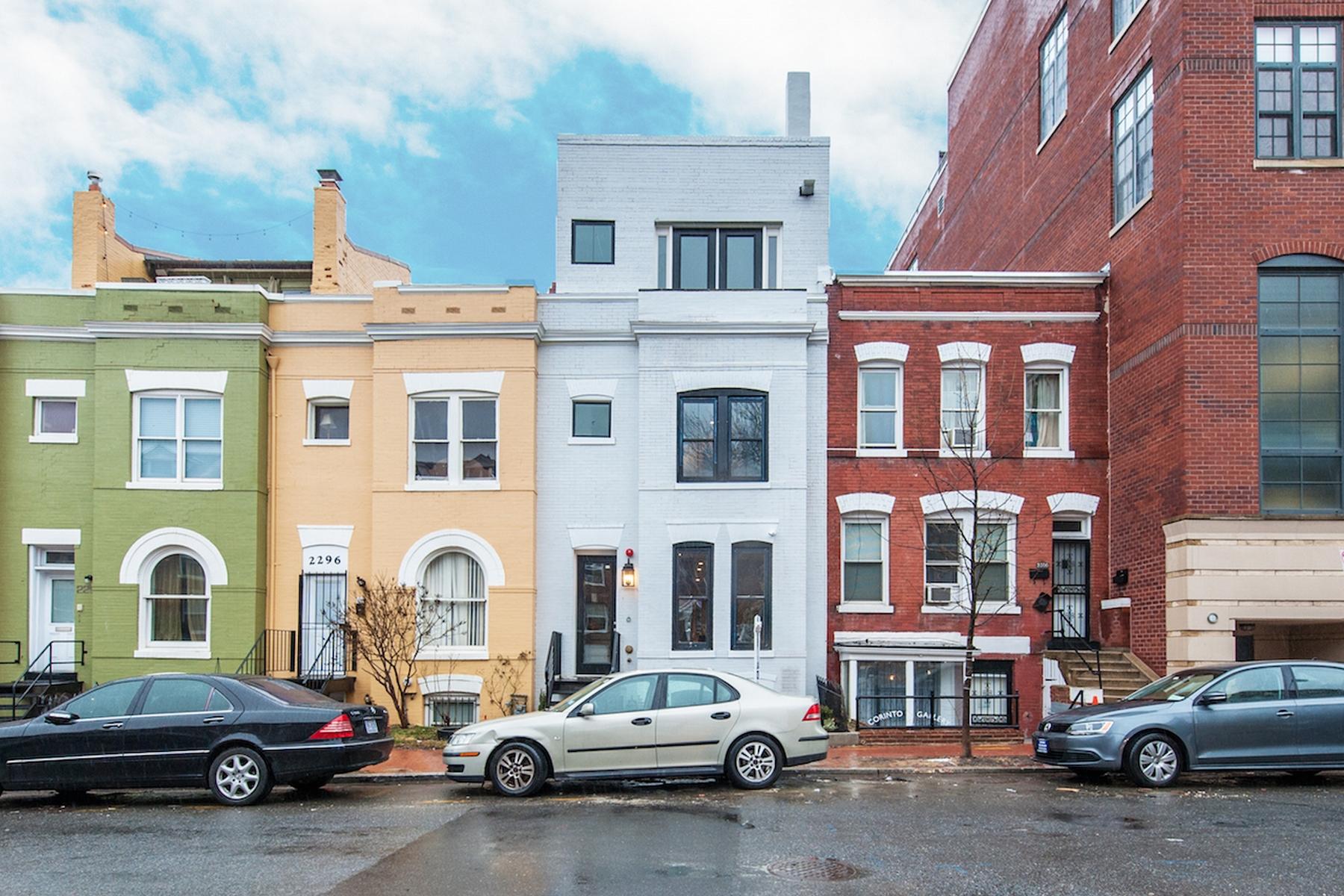 共管式独立产权公寓 为 销售 在 2298 Champlain Street Nw A, Washington Washington, 哥伦比亚特区 20009 美国
