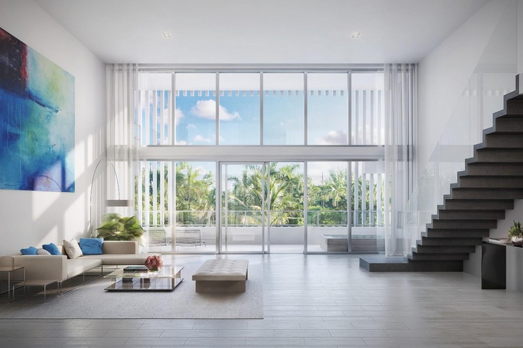 Appartement pour l Vente à 4701 N Meridian #220 Miami Beach, Florida 33140 États-Unis