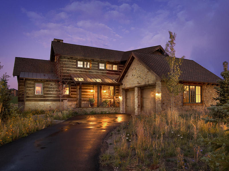 Single Family Home for Sale at Luxury Trappers Cabin with a Club Membership and views of Park City Mountain Res 8238 Western Sky Lot #21 Park City, Utah 84098 United States