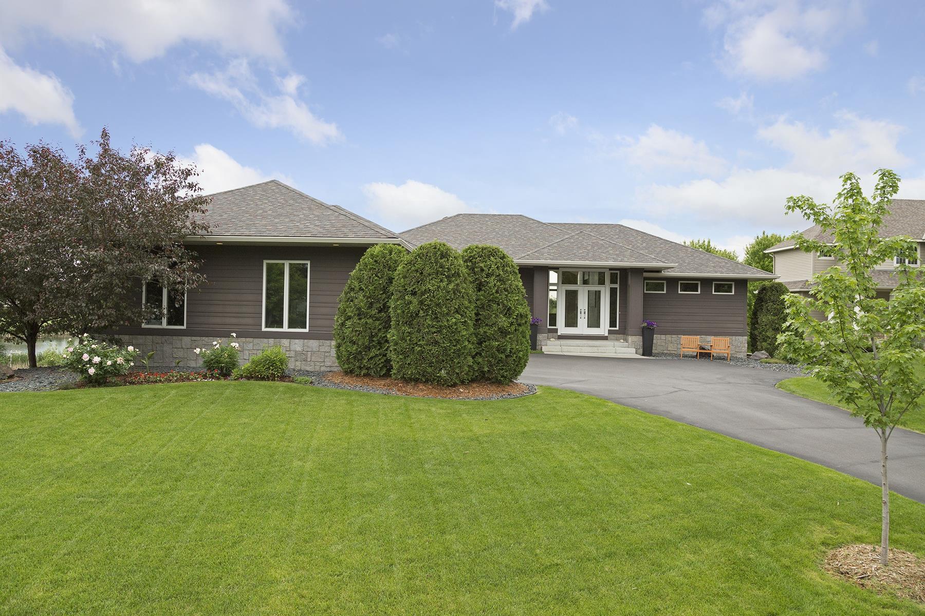 Casa Unifamiliar por un Venta en 8285 Kelzer Pond Drive Victoria, Minnesota, 55386 Estados Unidos