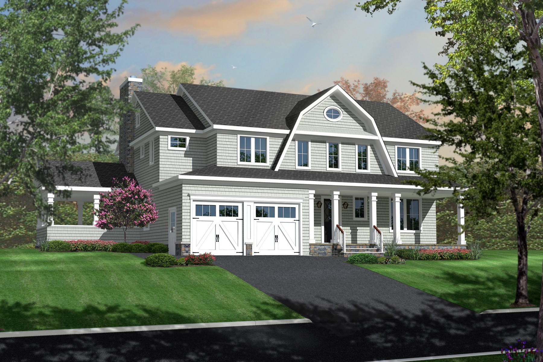 Moradia para Venda às NEW CONSTRUCTION in a PRIME LOCATION 72 Buttonwood Dr Fair Haven, Nova Jersey 07704 Estados Unidos