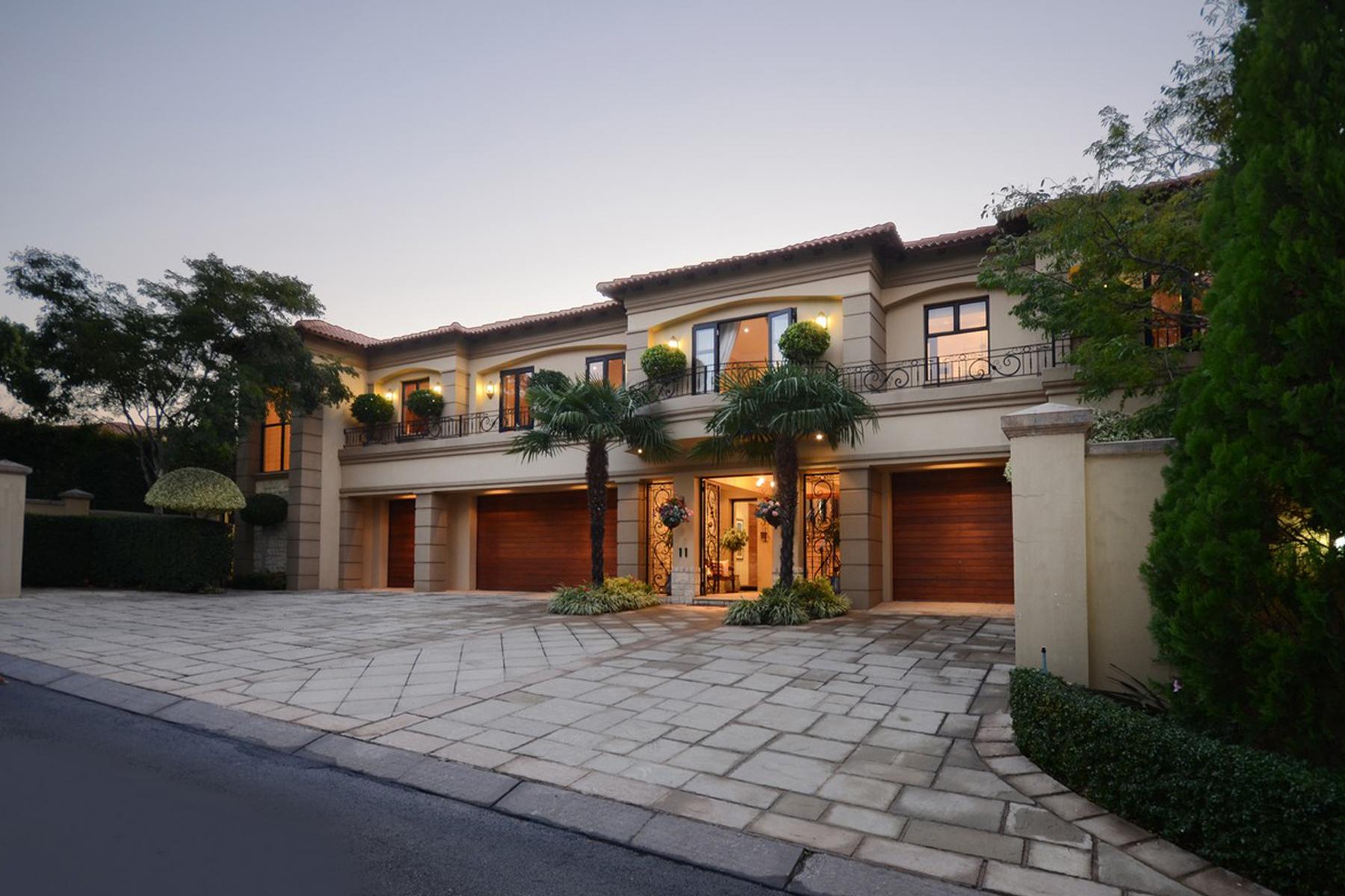 獨棟家庭住宅 為 出售 在 Bryanston Johannesburg, 豪登省, 南非