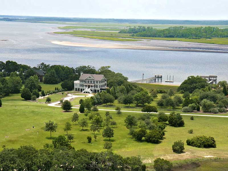 Single Family Home for Sale at Deep Water Estate 1168 Pilot Boy Wadmalaw Island, South Carolina 29487 United States