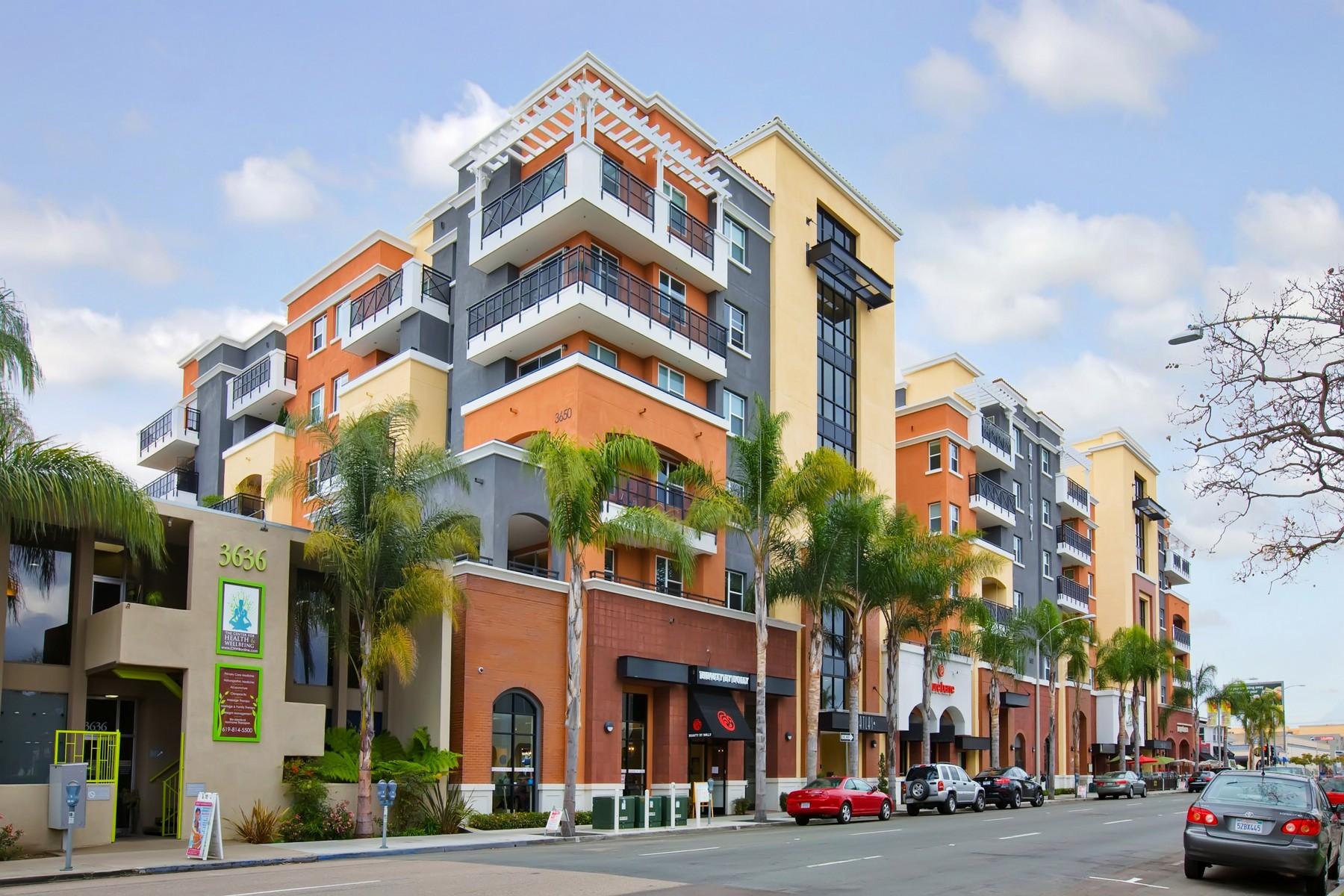 Appartement en copropriété pour l Vente à 3687 4th Avenue 208 Hillcrest, San Diego, Californie, 92103 États-Unis