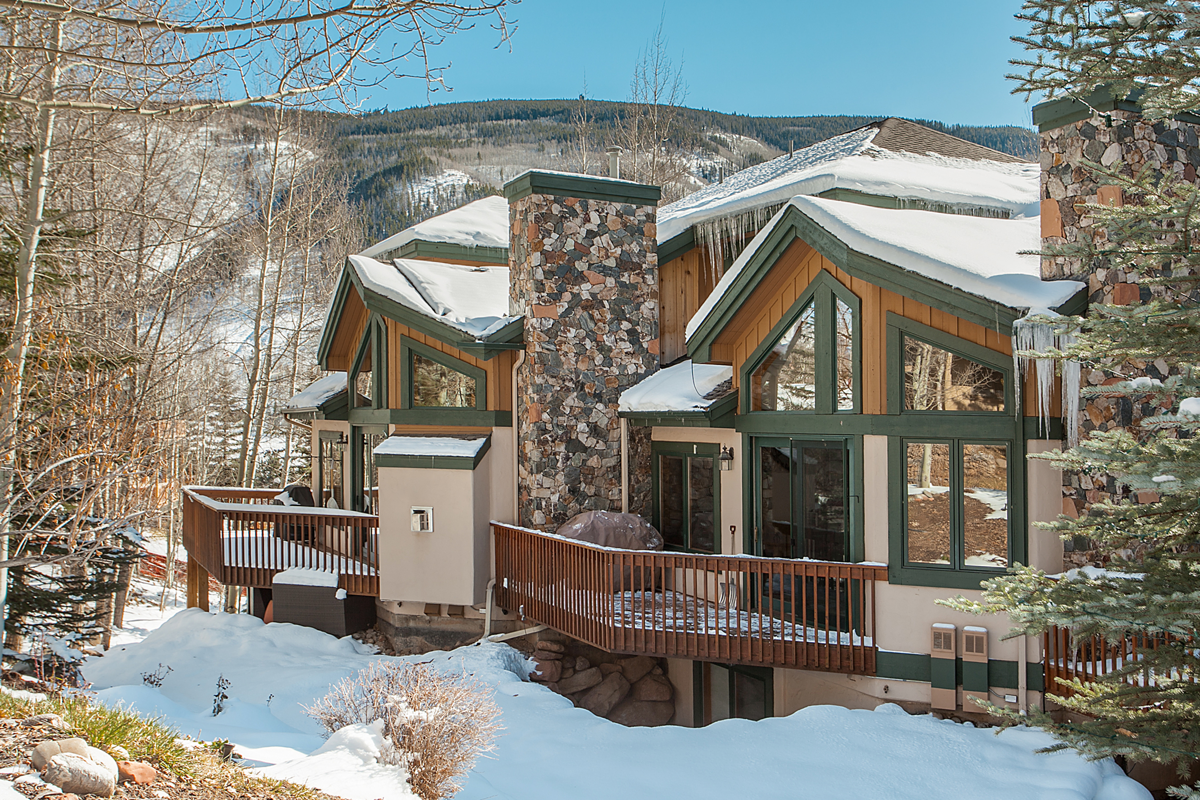 Single Family Home for Sale at Great Value in the Town of Vail 1890 Lions Ridge Loop #8 Vail, Colorado, 81657 United States
