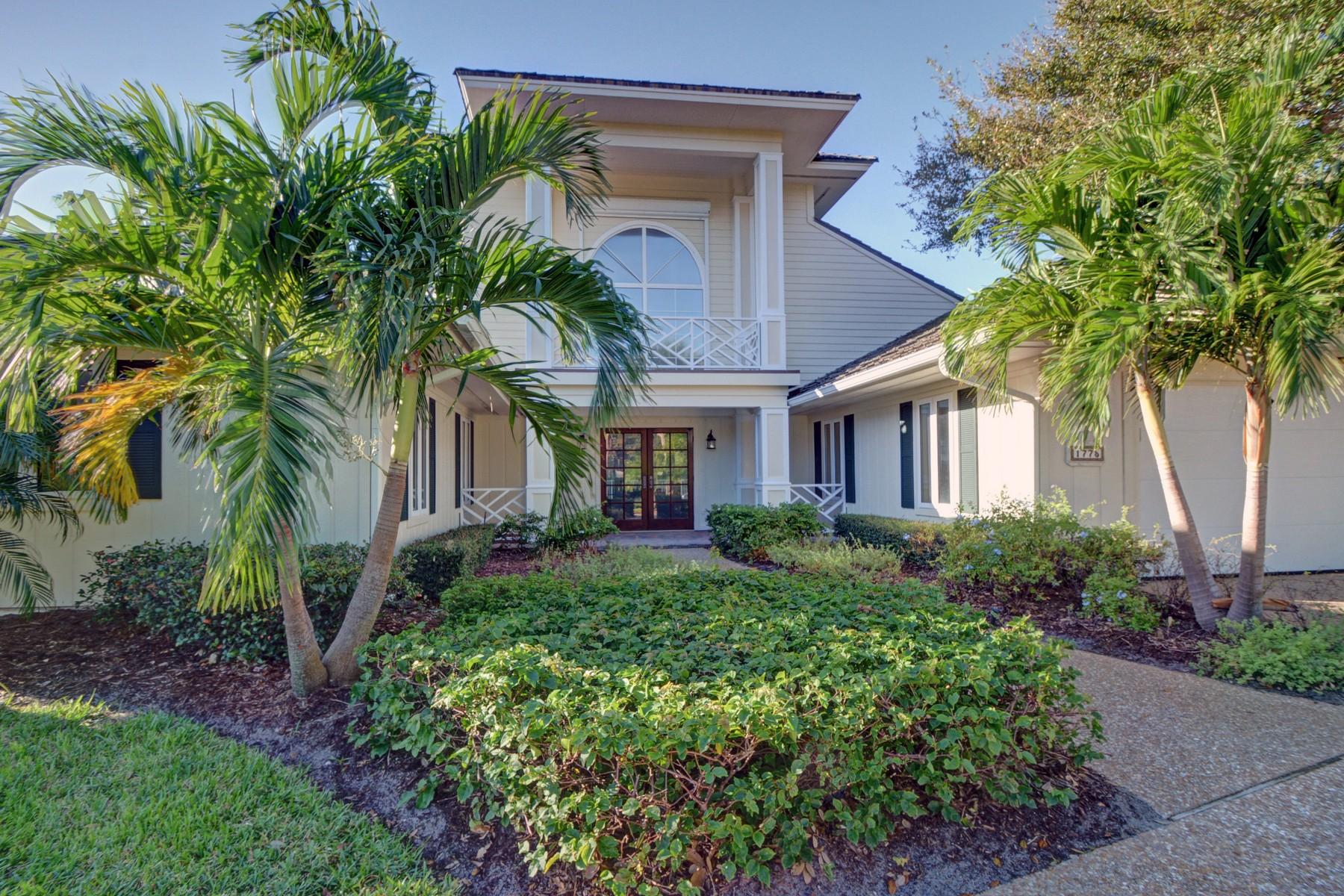 단독 가정 주택 용 매매 에 Wonderful home in Seagrove 1775 Sand Dollar Way Vero Beach, 플로리다, 32963 미국