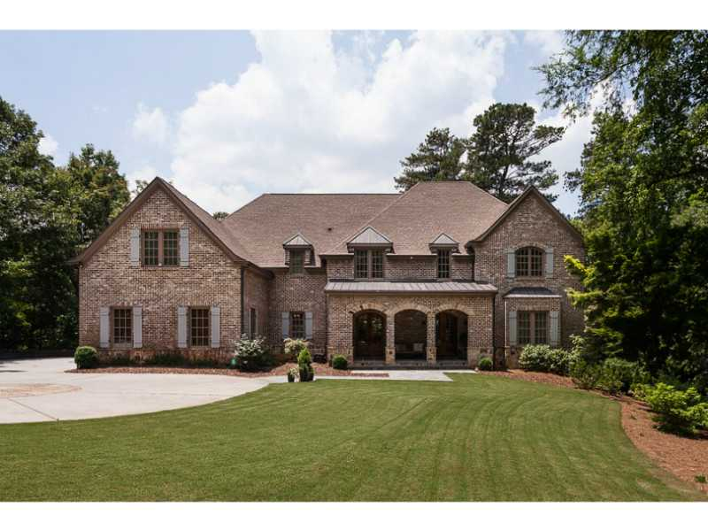 Single Family Home for Sale at A Gated Family Estate 60 Burdette Road Sandy Springs, Georgia 30327 United States