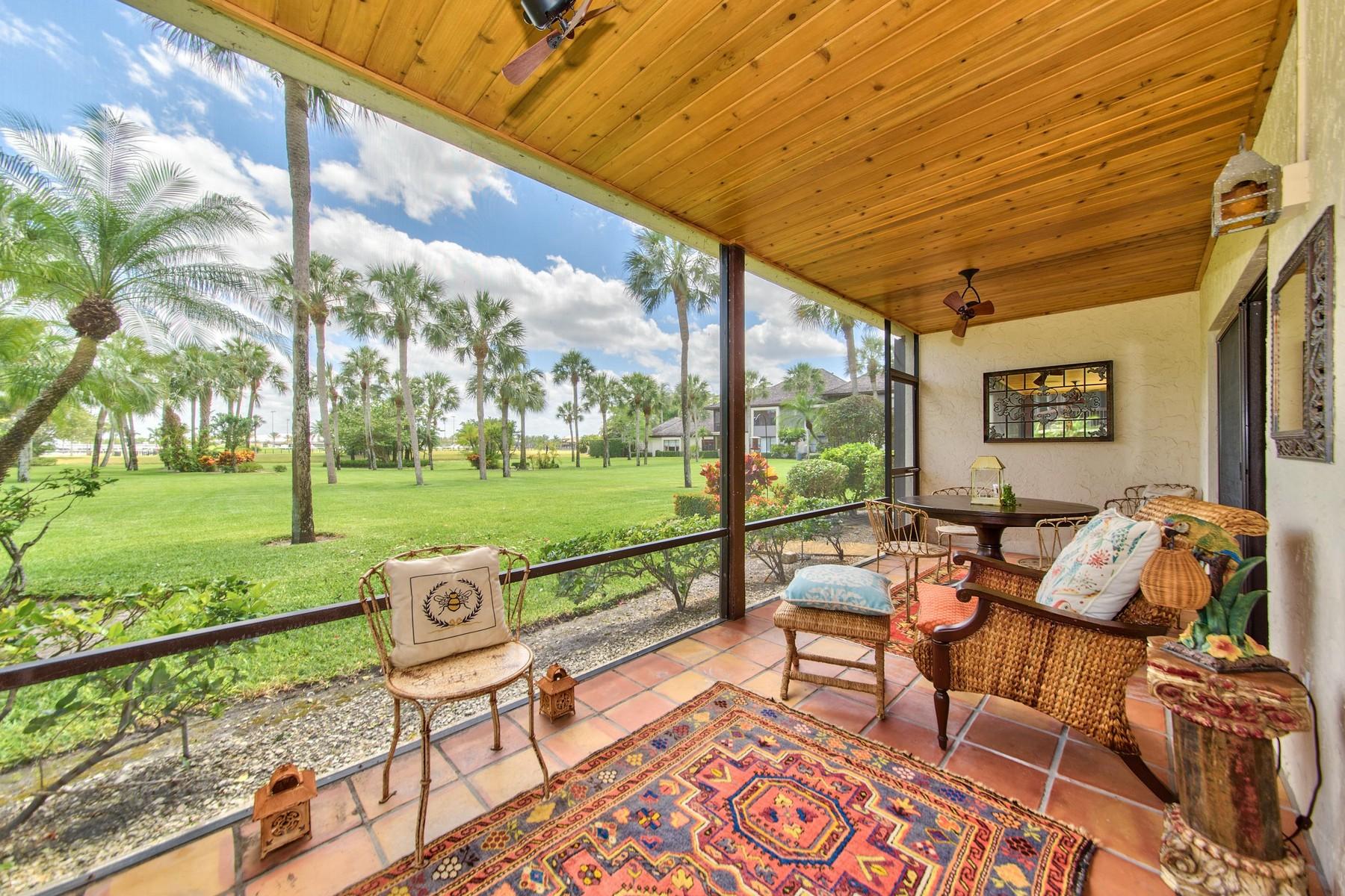 Частный односемейный дом для того Продажа на 13388 Polo Road W101 Wellington, Флорида, 33414 Соединенные Штаты