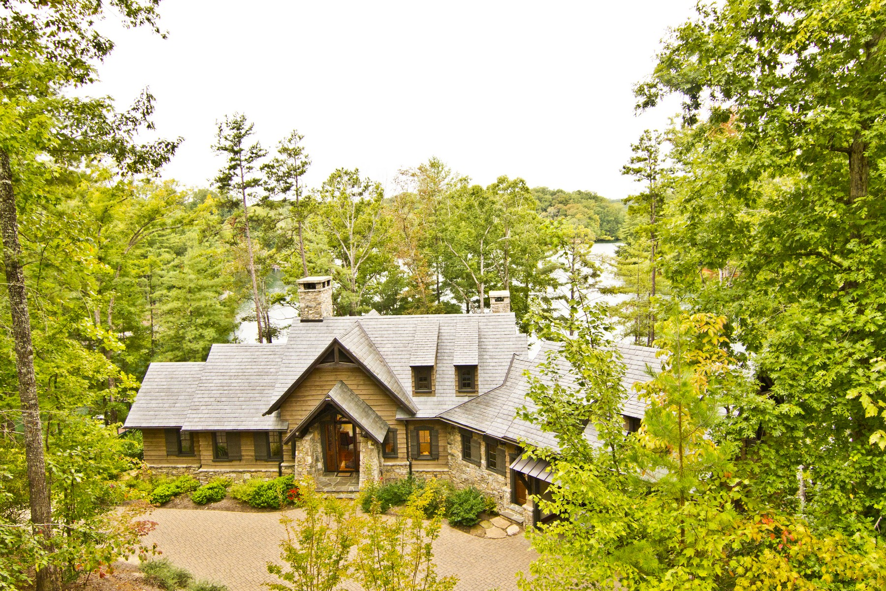 Single Family Home for Sale at Outstanding & Prominent Waterfront Dream Comprising Eloquent Architecture 105 Burwood Court The Reserve At Lake Keowee, Sunset, South Carolina, 29685 United States