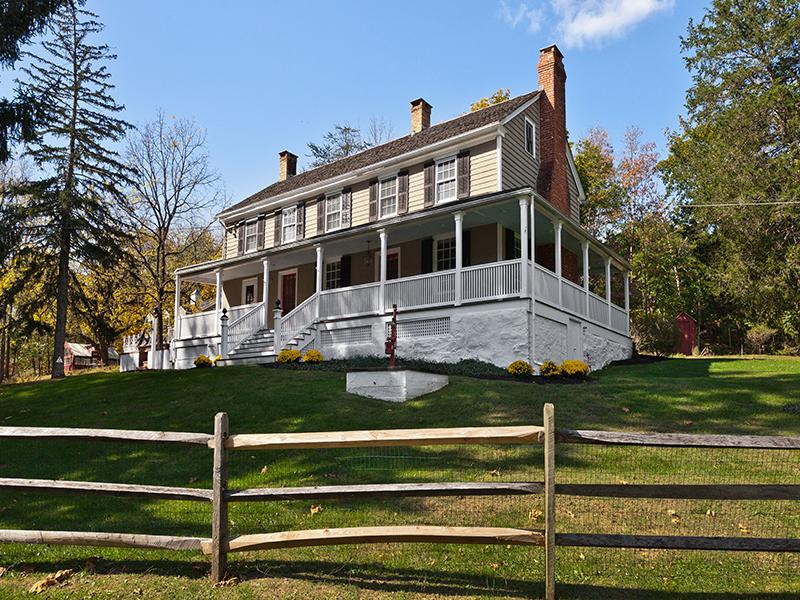 Single Family Home for Sale at Joshua Whiteley House 55 S. Sugan Road New Hope, Pennsylvania 18938 United States