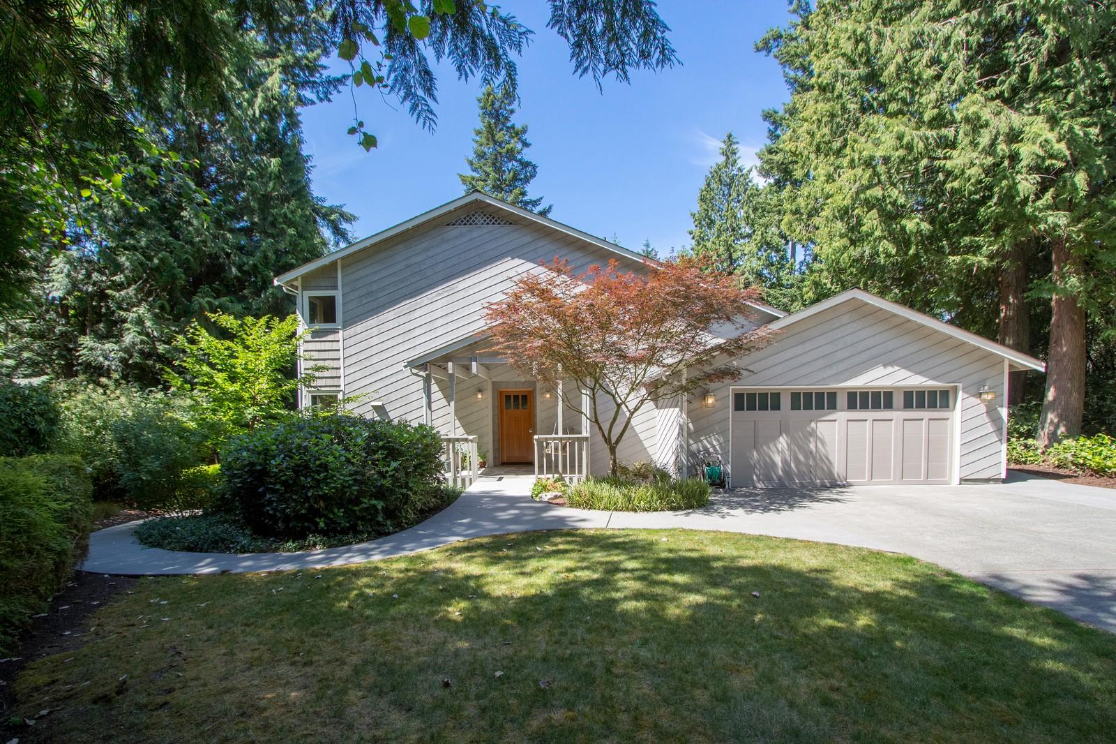 Maison unifamiliale pour l Vente à Lariat Loop 6050 NE Lariat Loop Bainbridge Island, Washington, 98110 États-Unis
