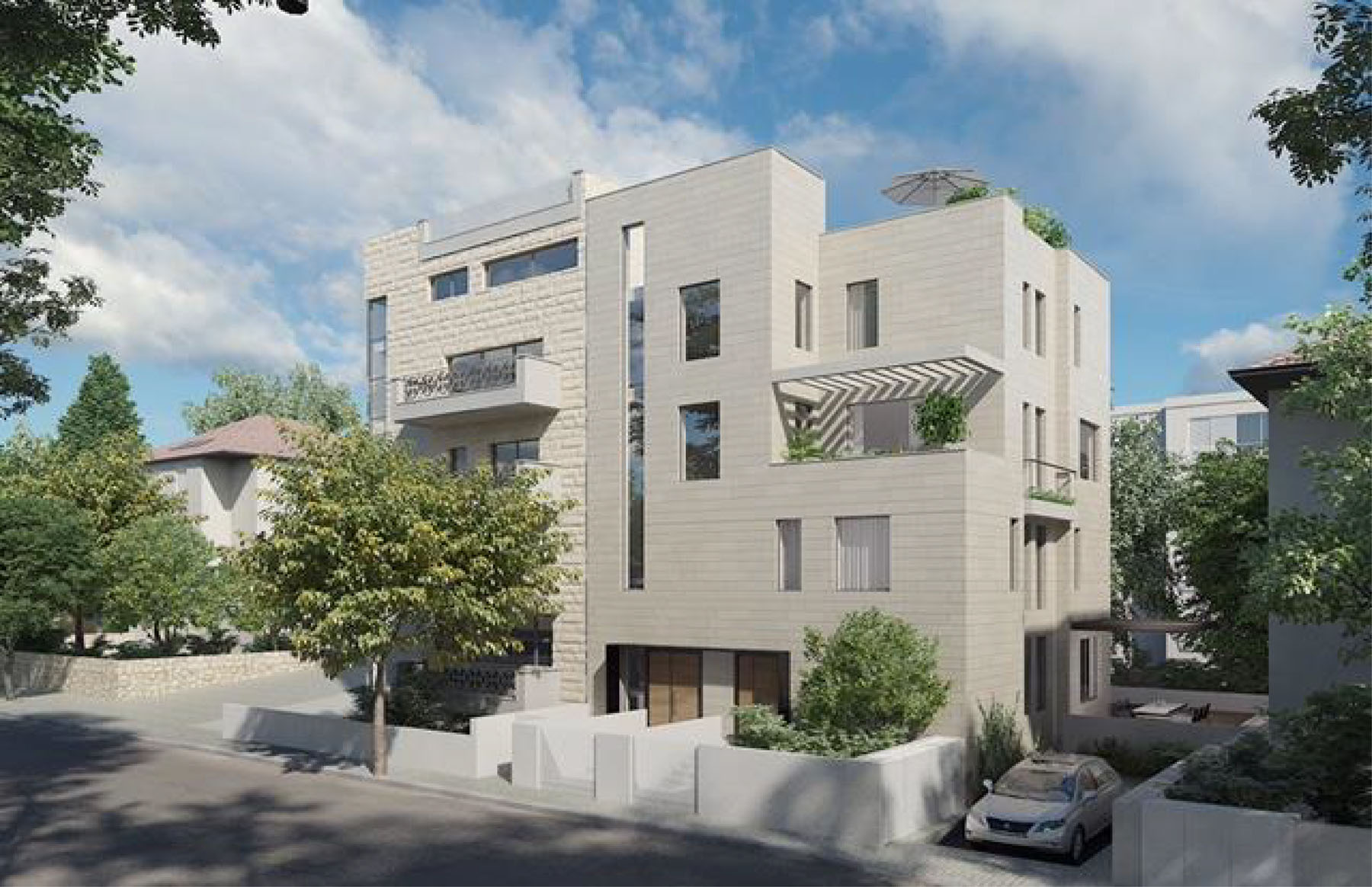 Apartamento por un Venta en Luxury Apartments in Rehavia Jerusalem, Israel Israel