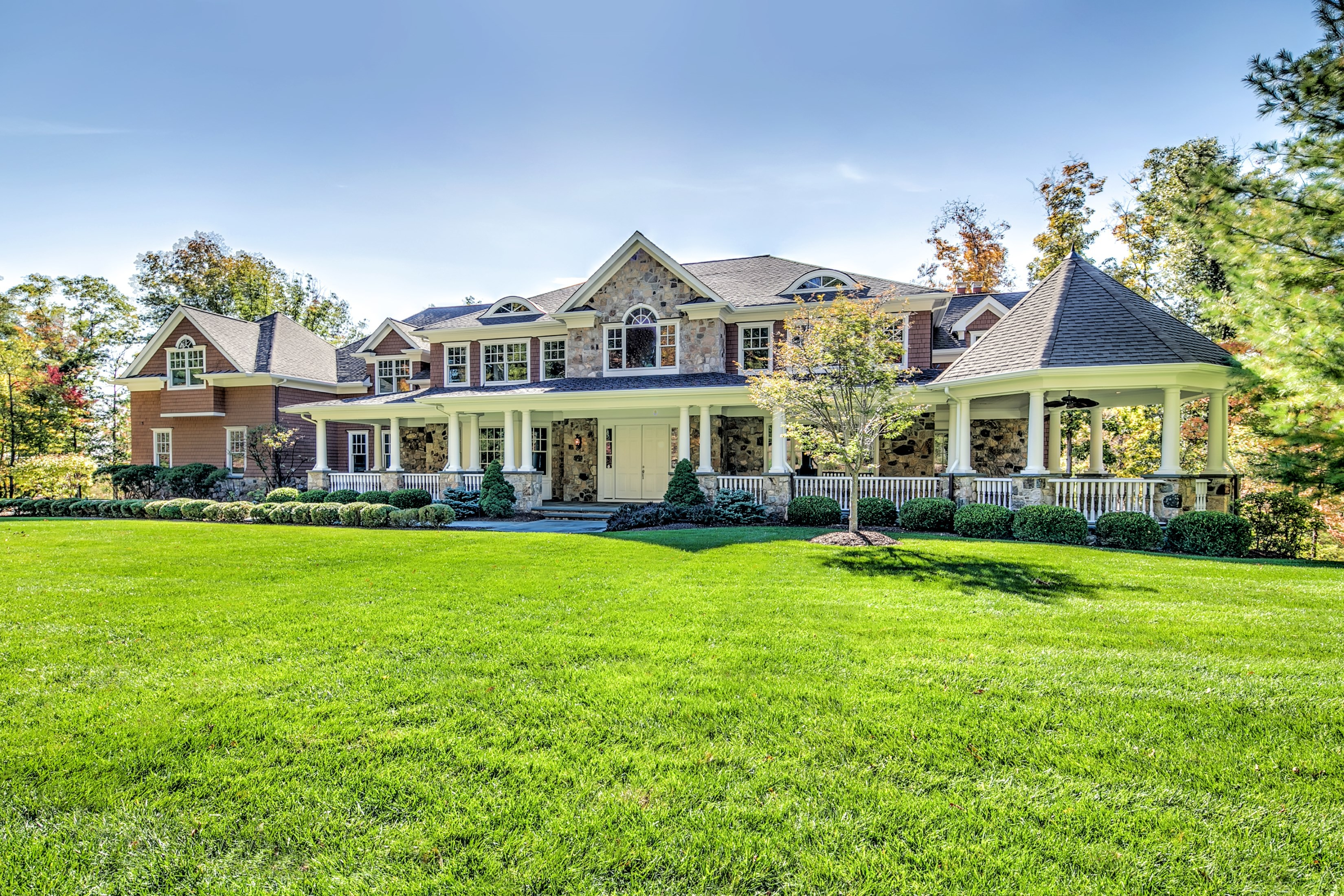 Single Family Home for Sale at Elegant Custom Colonial 49 Wisteria Way Basking Ridge, 07920 United States