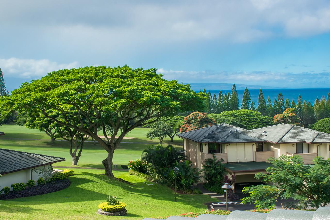 Appartement en copropriété pour l Vente à Renovated Ocean View villa Overlooking the Kapalua Bay Course 500 Kapalua Drive Kapalua Golf Villas 20T5, 6 Kapalua, Hawaii 96761 États-Unis
