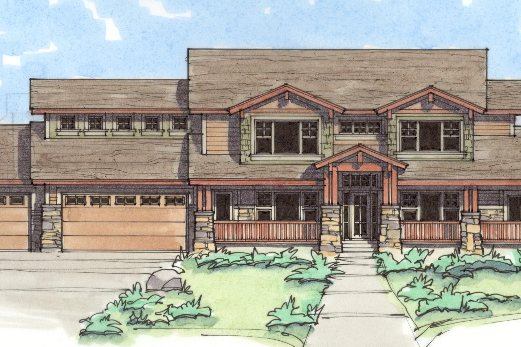 Nhà ở một gia đình vì Bán tại Craftsman 2 Story 2721 E Partridge Cove Lot #102 Sandy, Utah 84093 Hoa Kỳ