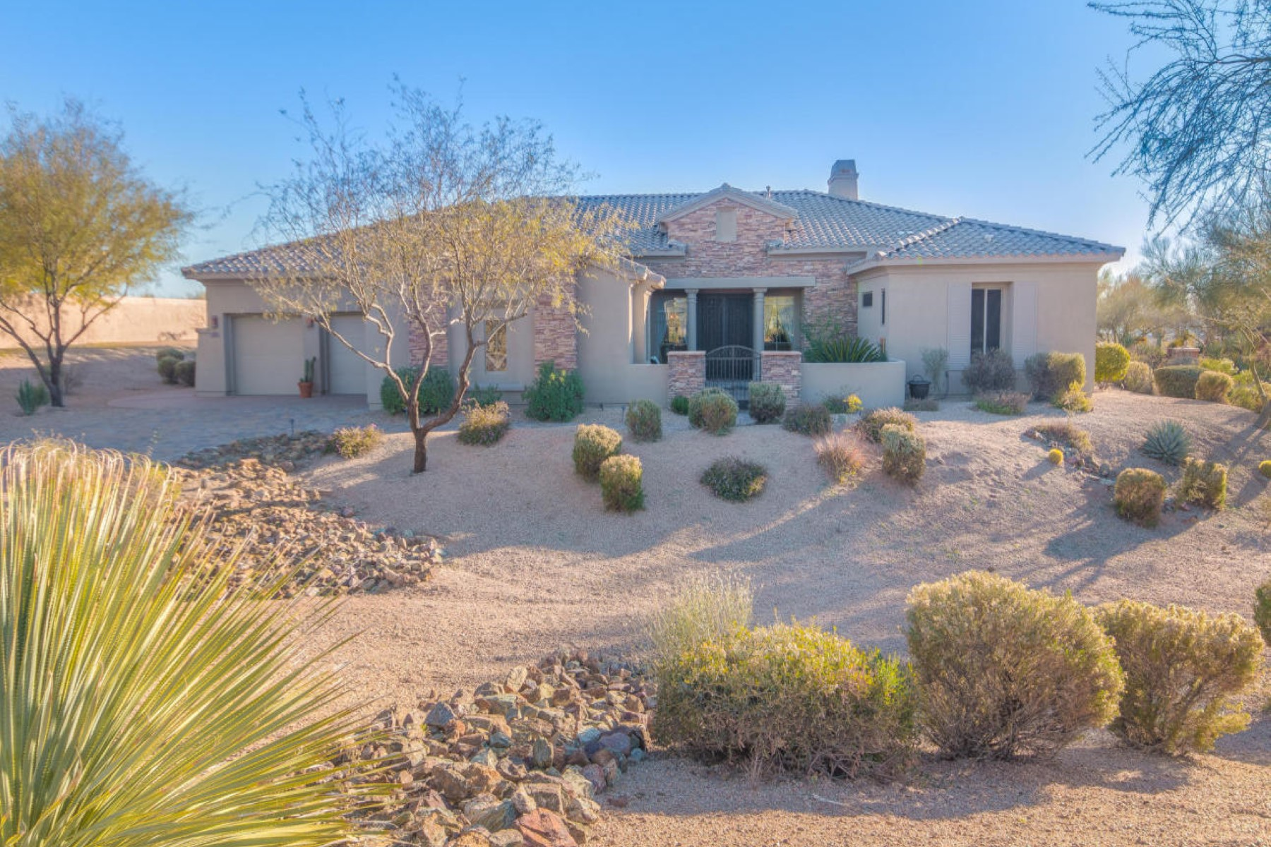rentals property at Stunning home is intimately nestled in the magnificent high Sonoran desert scape