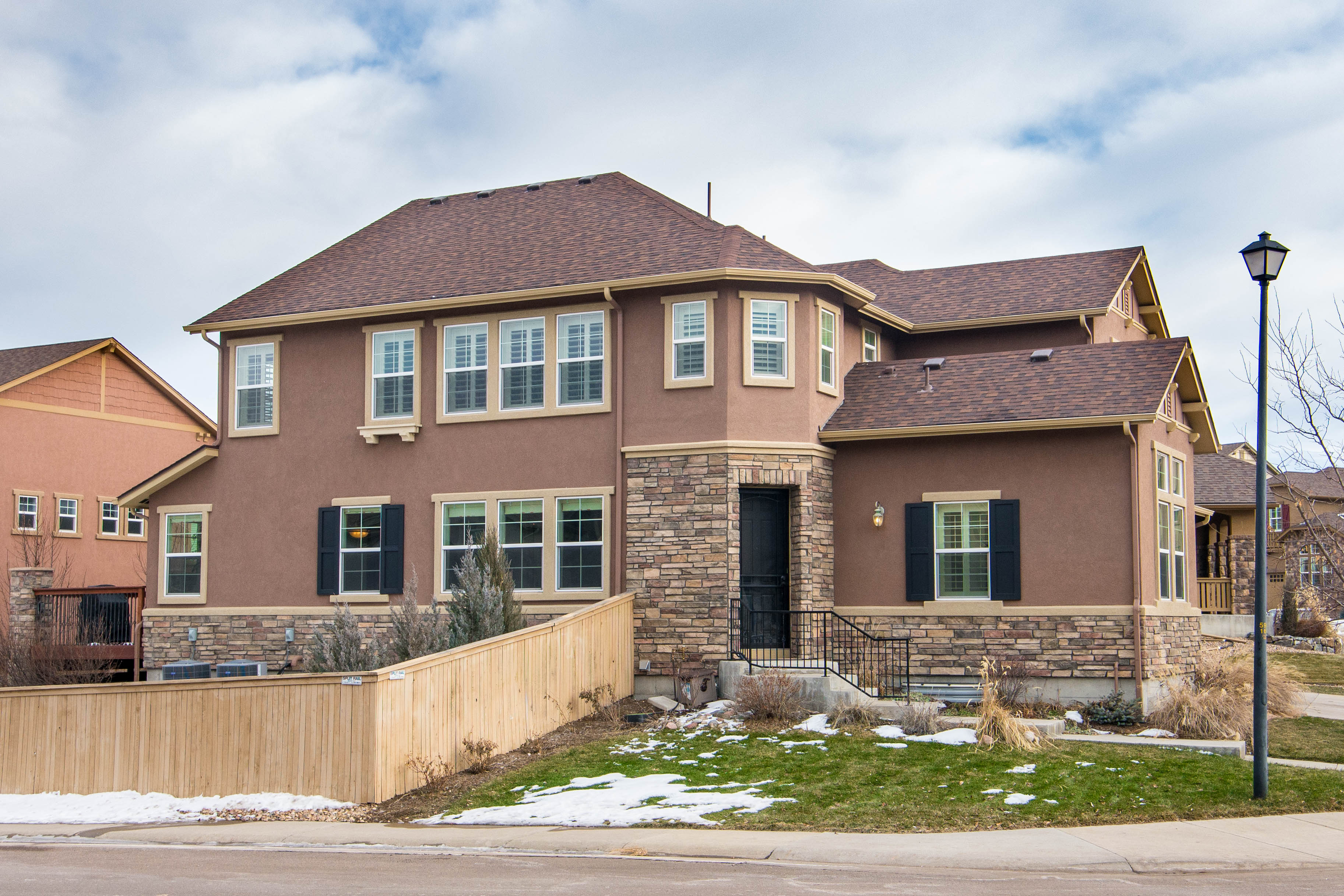 sales property at Immaculate Bayberry model, built by Shea Homes