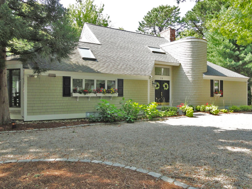 Single Family Home for Sale at CONTEMPORARY CAPE WITH POOL ON CORNER LOT IN THE DESIRABLE LITTLE NECK BAY AREA 78 Tide Run New Seabury, Massachusetts, 02649 United StatesIn/Around: Mashpee