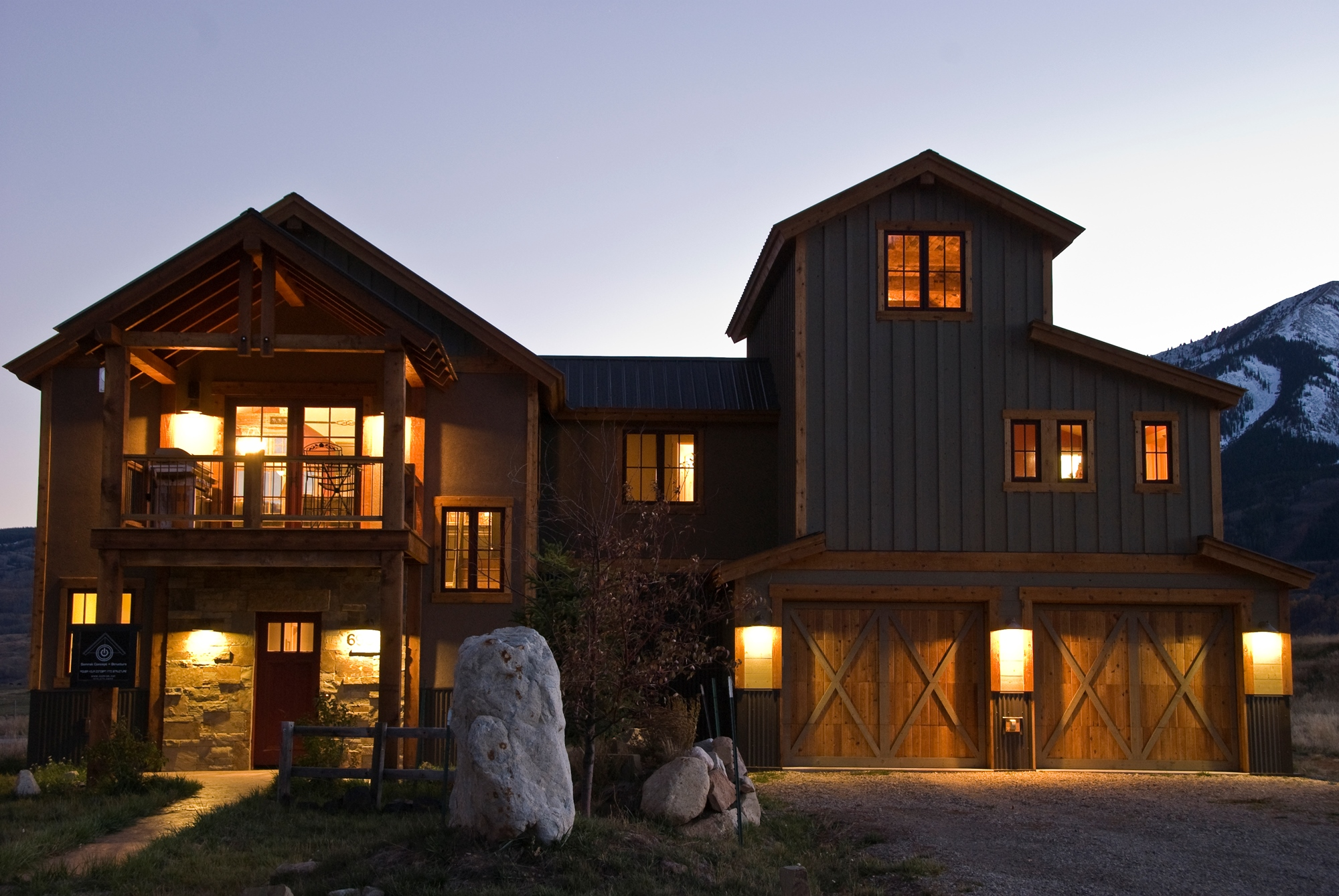 Single Family Home for Sale at Custom Home With Stunning Panoramic Views 696 S Avion Drive Crested Butte, Colorado 81224 United States