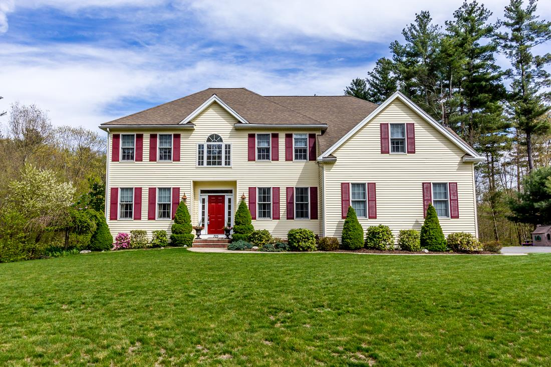 Single Family Home for Sale at Regal Colonial 325 Crownshield Avenue Uxbridge, Massachusetts 01569 United States