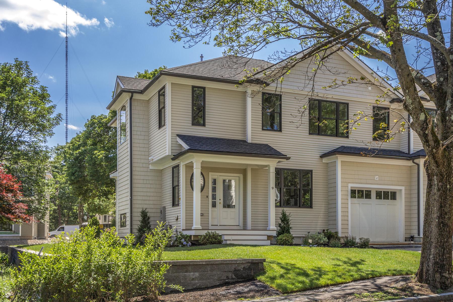 Maison multifamiliale pour l Vente à Newton Multi-Family 7-9 Elliot Terrace Newton, Massachusetts 02464 États-Unis