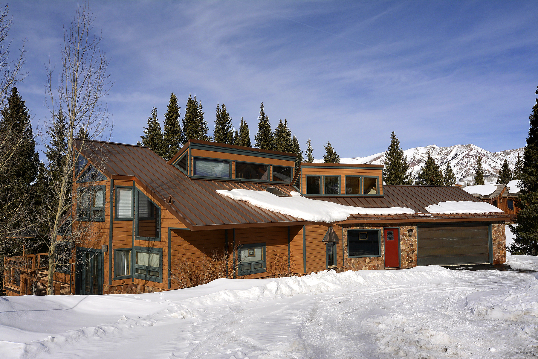 Maison unifamiliale pour l Vente à Desirable Mountain Home 10 Aspen Lane Mount Crested Butte, Colorado, 81225 États-Unis