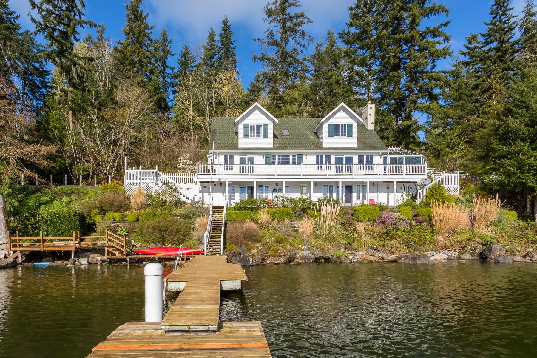 Maison unifamiliale pour l Vente à Bellingham Cape Cod 2327 Northshore Rd Bellingham, Washington, 98226 États-Unis
