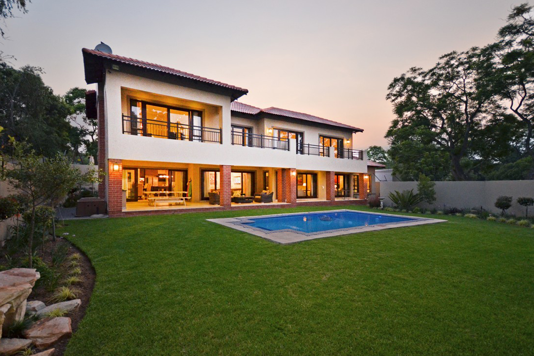 Single Family Home for Sale at A house in Bryanston Johannesburg, Gauteng, South Africa