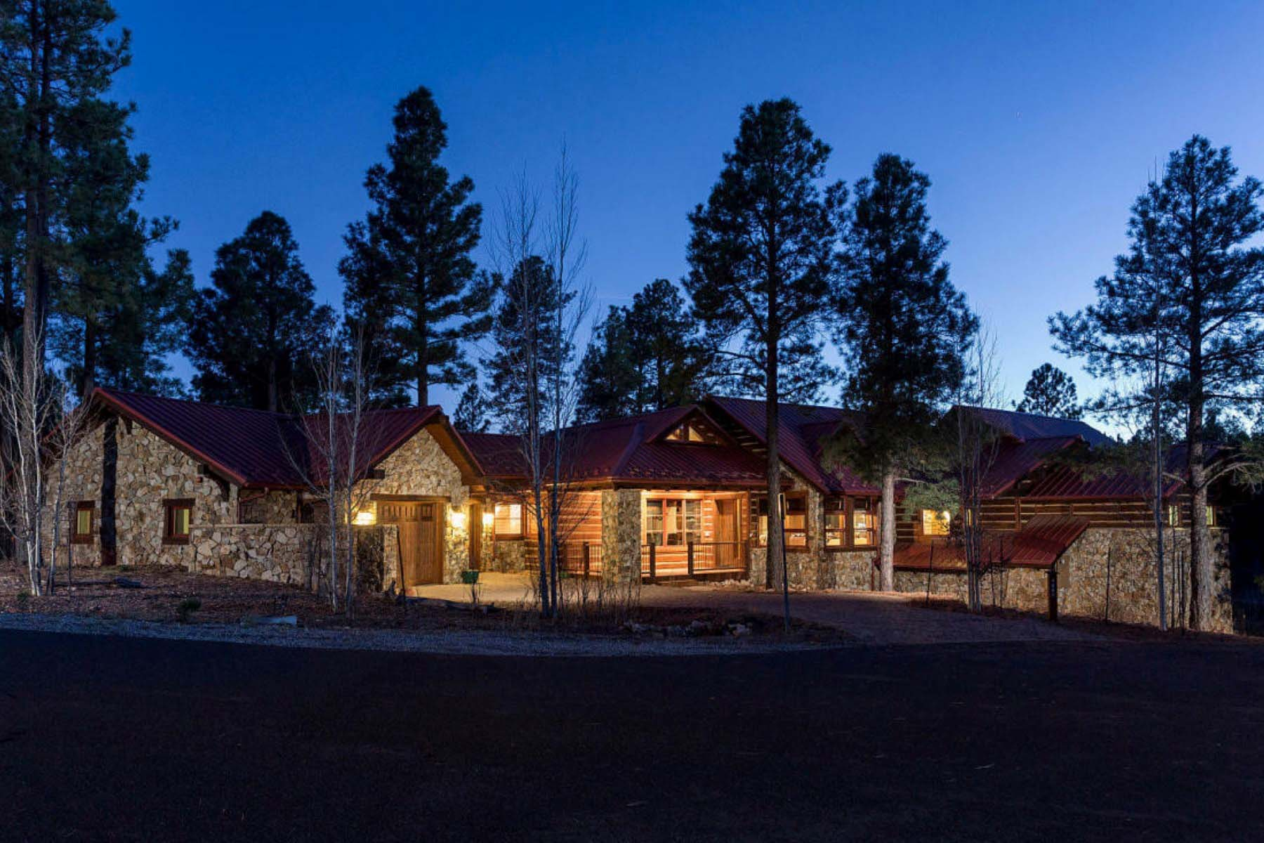 Single Family Home for Sale at Incredible Luxury Mountain Home On a Prime Cul-de-Sac in Exclusive Pine Canyon 1887 E Marengo Court Flagstaff, Arizona 86005 United States