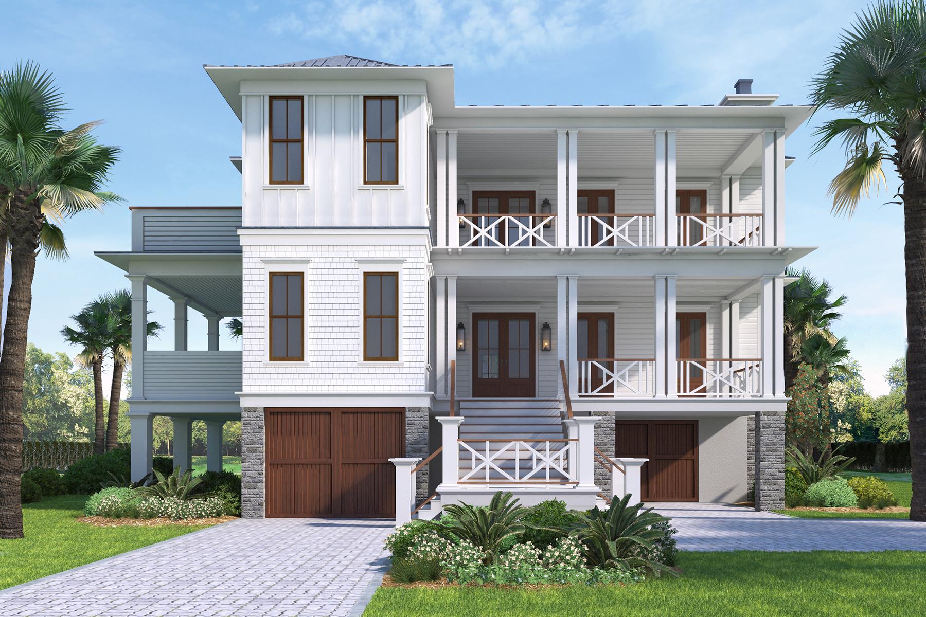 Nhà ở một gia đình vì Bán tại Entertainer's Dream Home on Sullivans Island 1311 Cove Avenue Sullivans Island, Nam Carolina, 29482 Hoa Kỳ