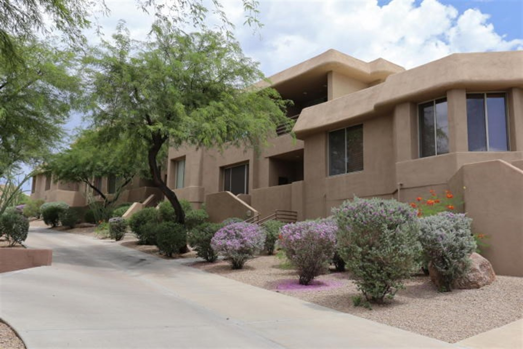 sales property at Desert retreat in the popular gated Golf Villas at Troon North Golf Club