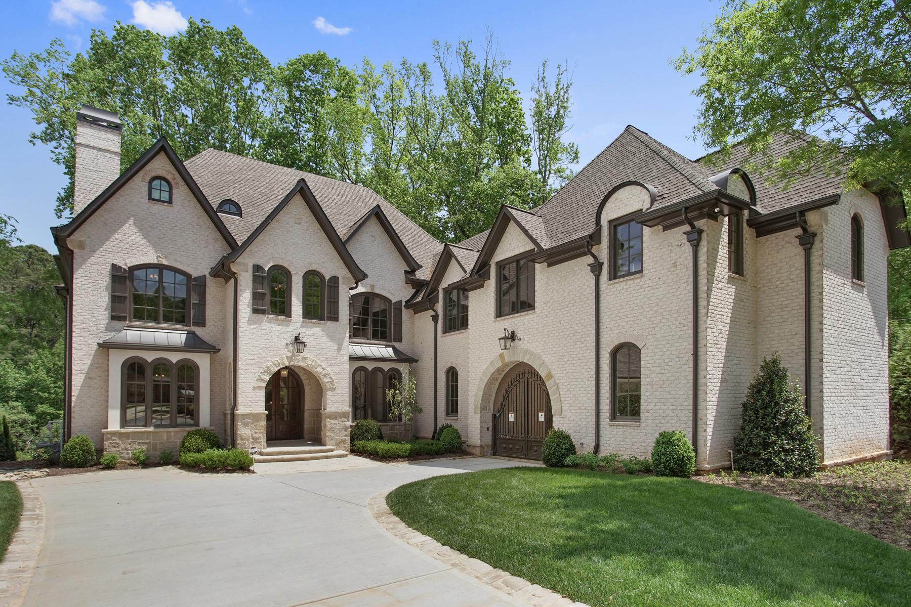獨棟家庭住宅 為 出售 在 Stunning New Construction In Prime Sandy Springs Location 205 Rivermere Way Atlanta, 喬治亞州, 30350 美國