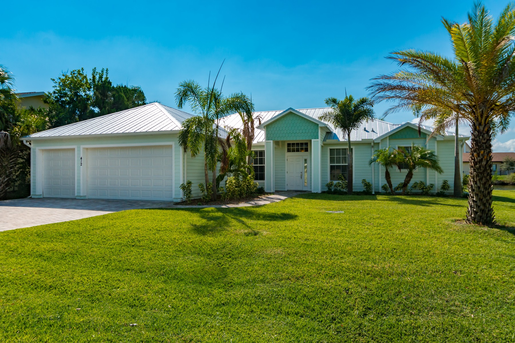 Property For Sale at Brand New Key West Style Home in Cocoa Beach