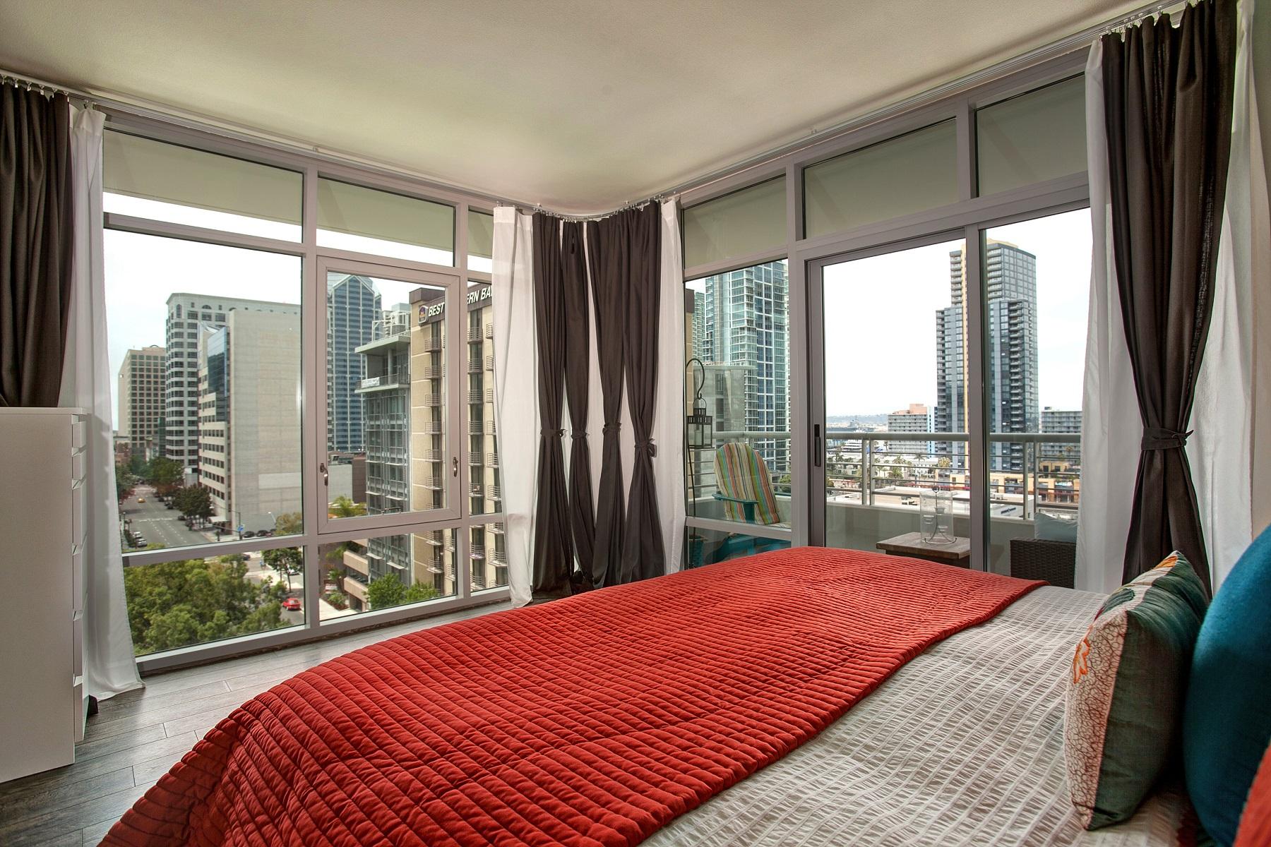 Appartement en copropriété pour l Vente à Acqua Vist 425 West Beech Street 904 Little Italy, San Diego, Californie 92101 États-Unis
