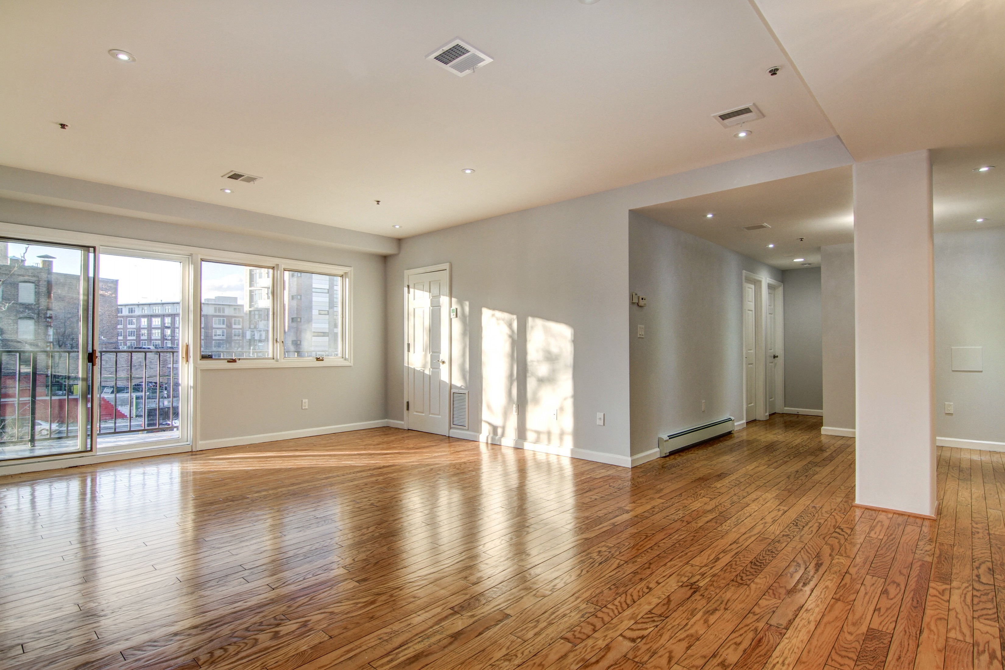 Single Family Home for Sale at Downtown Park Ave 2BR + Parking! 72 Park Ave #2B Hoboken, New Jersey 07030 United States