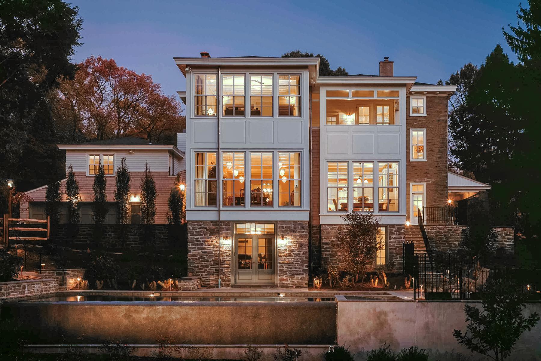 Nhà ở một gia đình vì Bán tại Hidden Treasure 8520 Hagys Mill Road #C Roxborough, Philadelphia, Pennsylvania, 19128 Hoa Kỳ