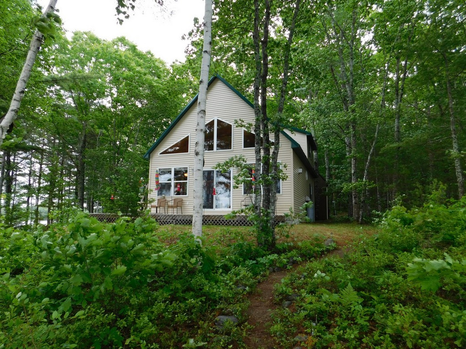 Single Family Home for Sale at Birch Point Cottage 269 West Beddington Lake Rd Beddington, Maine, 04622 United States