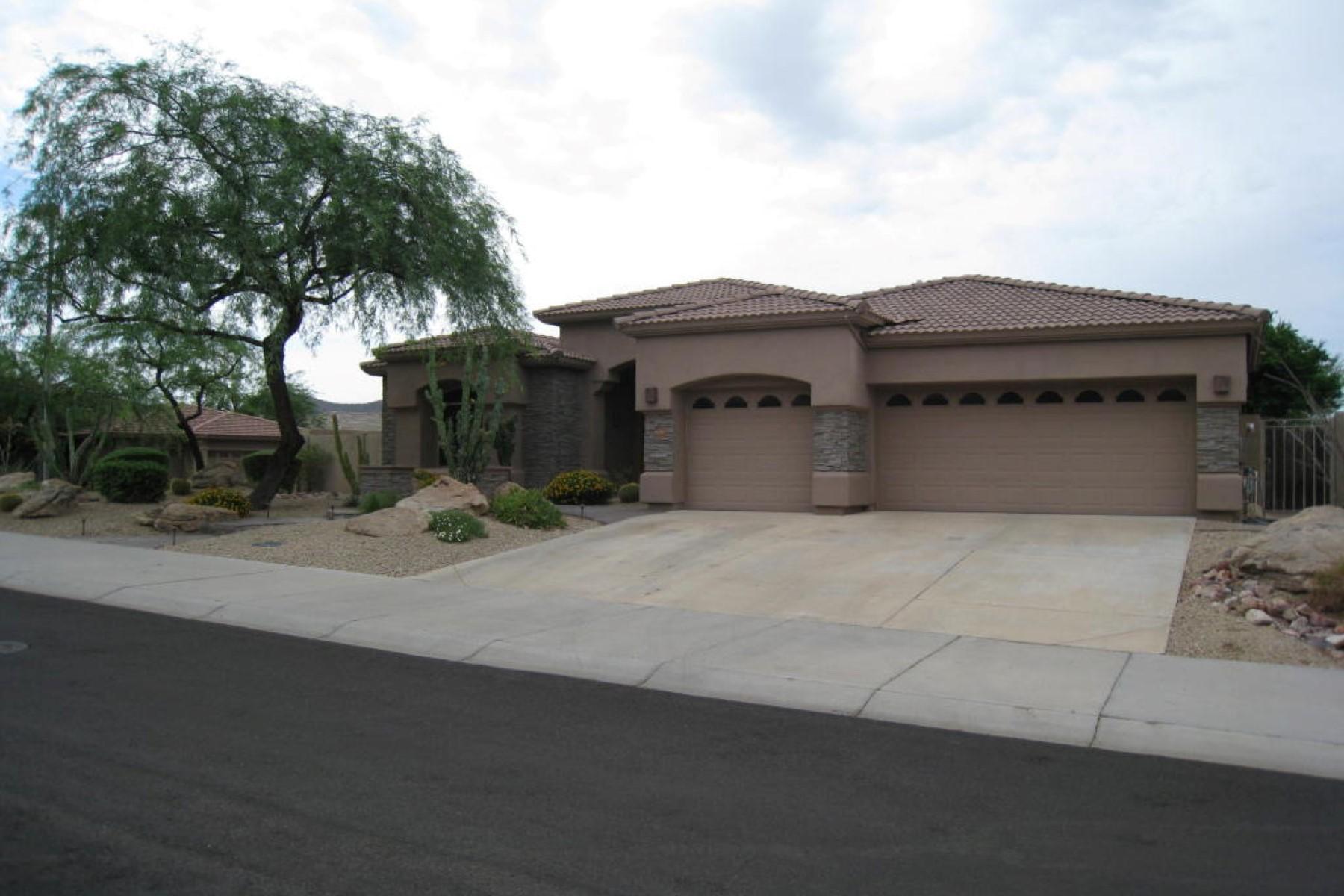 단독 가정 주택 용 매매 에 Beautiful McDowell Mountain Ranch home. 10867 E Acacia Dr Scottsdale, 아리조나 85255 미국