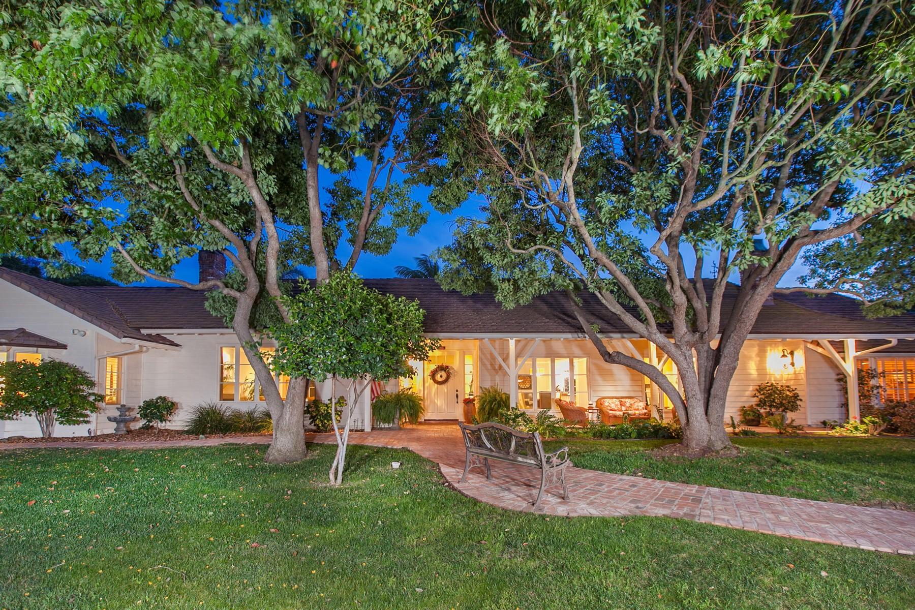 Einfamilienhaus für Verkauf beim 6389 Via Naranjal Rancho Santa Fe, Kalifornien 92067 Vereinigte Staaten