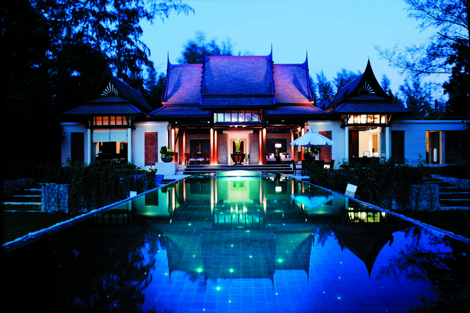 Property Of Luxury Pavilion-style Villa