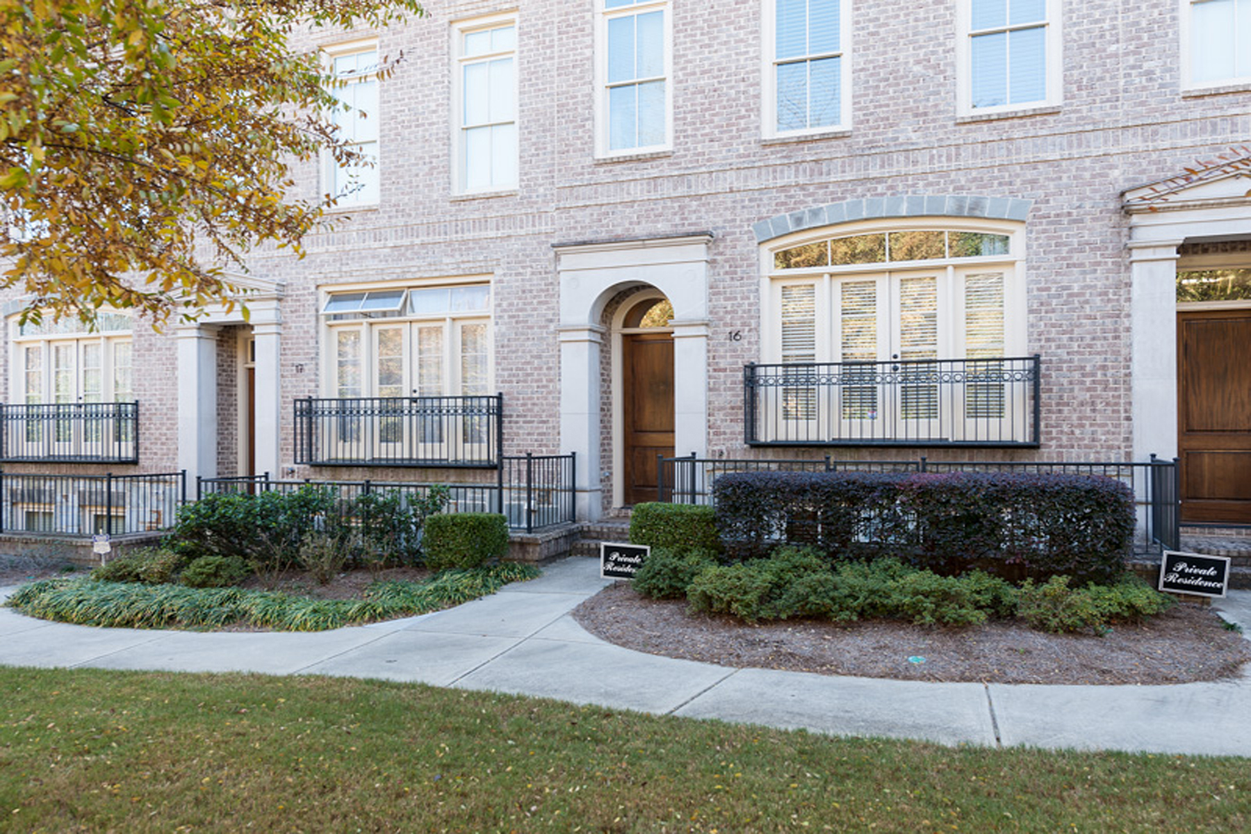 rentals property at Sophisticated Brick And Stone Townhome