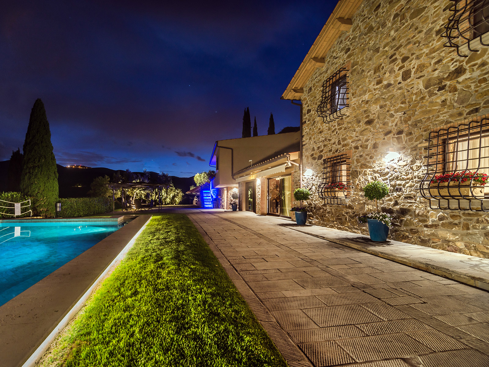 Property For Sale at Inspiring Tuscan Estate with vineyards