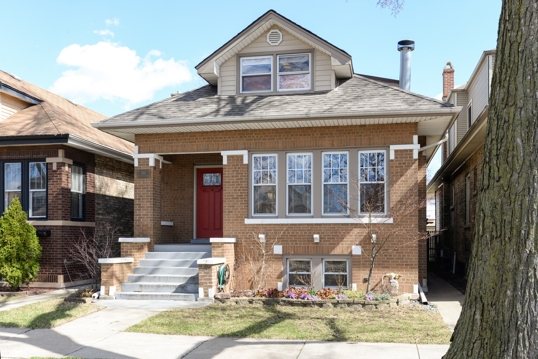Single Family Home for Sale at Nice Brick Bungalow 5111 North Kostner Avenue Chicago, Illinois, 60630 United States