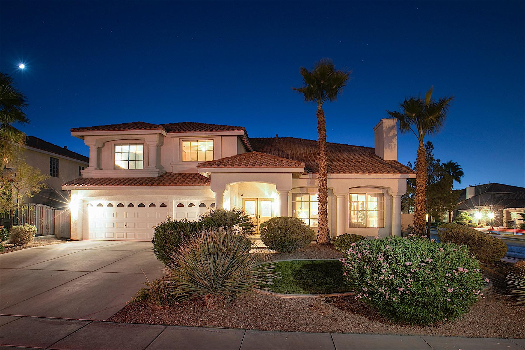 獨棟家庭住宅 為 出售 在 Crown Jewel in Silverado Ranch 9129 Amber Waves Street Las Vegas, 內華達州, 89123 美國