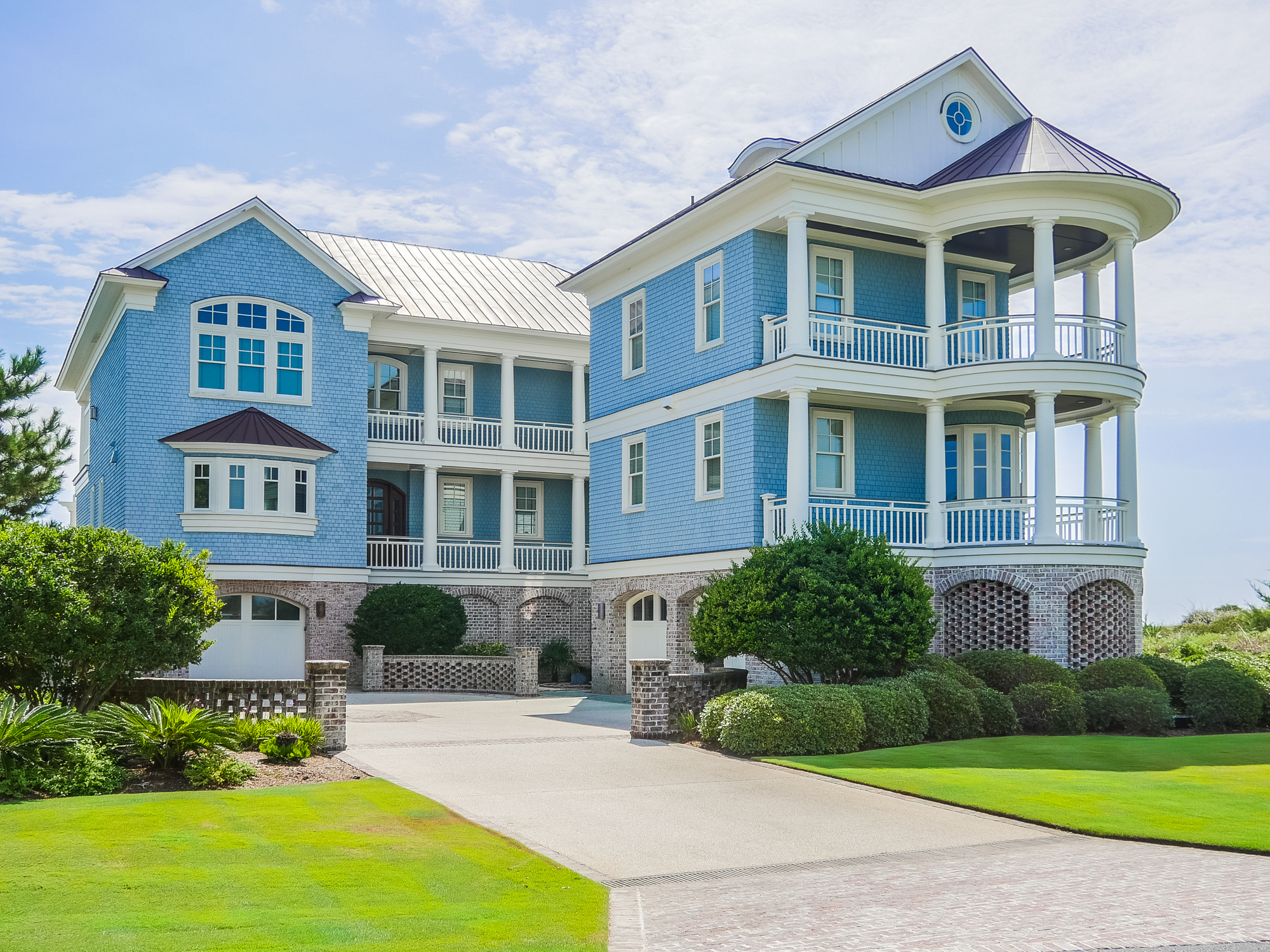 Single Family Home for Sale at Magnificent Oceanfront Residence 520 Beach Road N Wilmington, North Carolina, 28411 United States