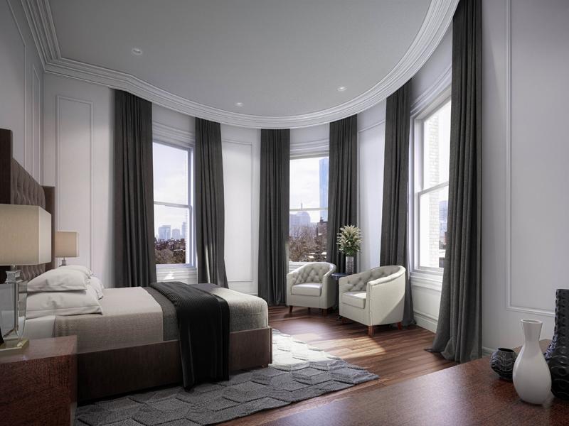 Kat Mülkiyeti için Satış at Hooper Mansion 448 Beacon Street Unit 5 Back Bay, Boston, Massachusetts 02115 Amerika Birleşik Devletleri