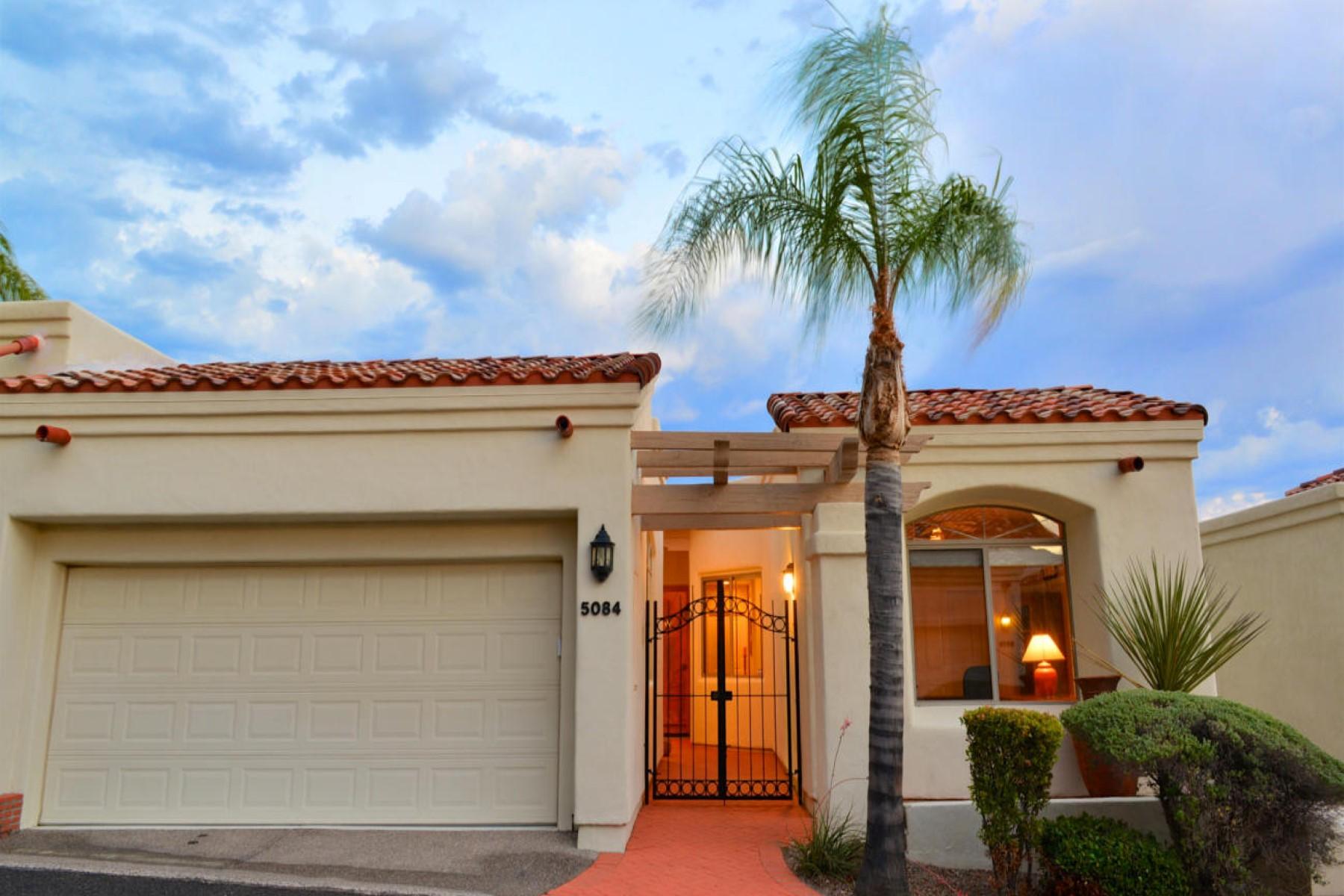 Villa per Vendita alle ore Charming home nestle in the heart of Catalina Foothills 5084 E Calle Brillante Tucson, Arizona, 85718 Stati Uniti