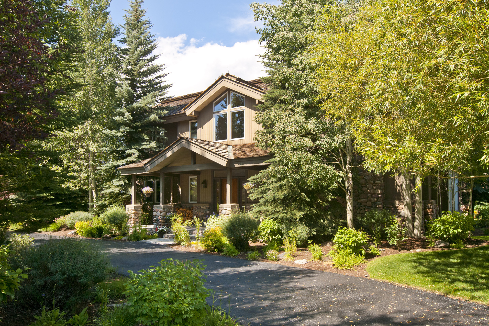 Property For Sale at Tranquility and Views in Teton Pines