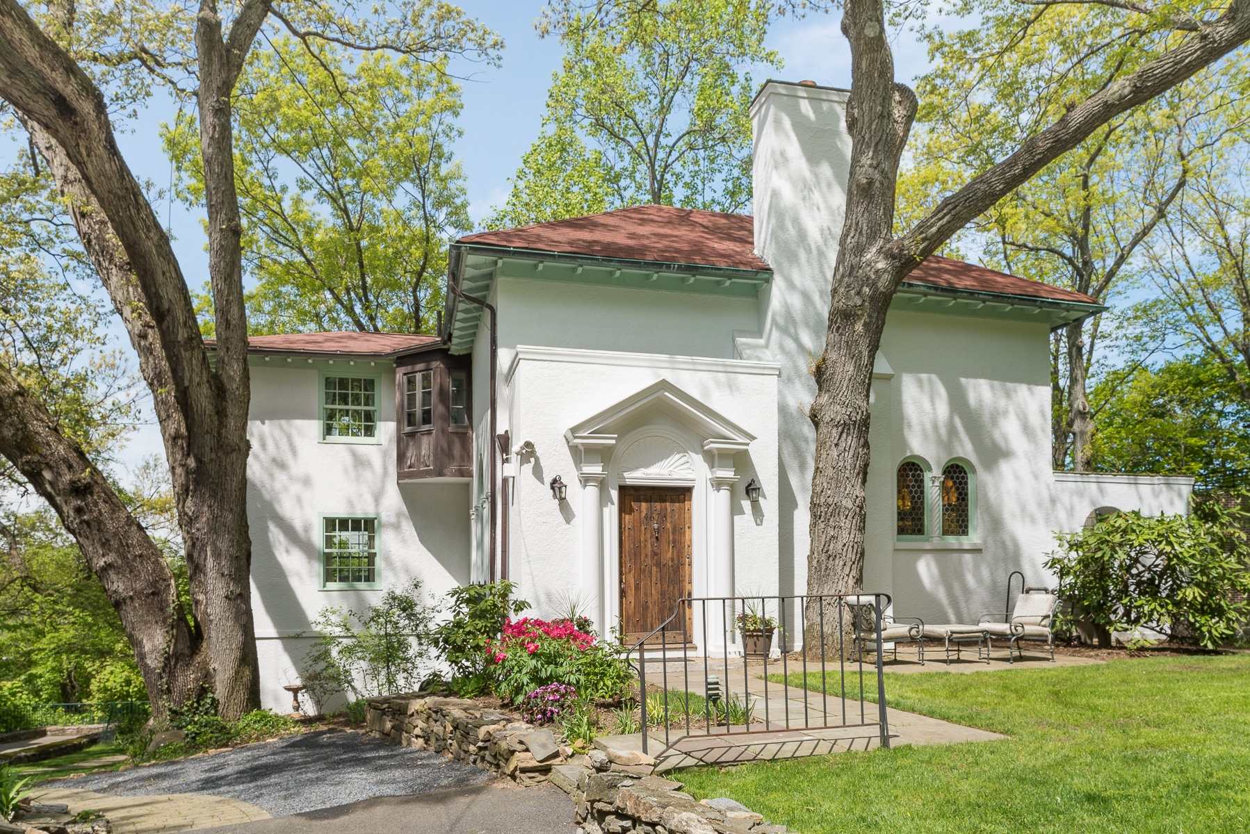獨棟家庭住宅 為 出售 在 Fieldston Mediterranean Revival 4673 Delafield Avenue Riverdale, 紐約州, 10471 美國